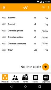 weebi app v3 Produits